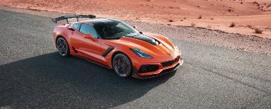 2. 2019 Corvette ZR-1_Front_right_